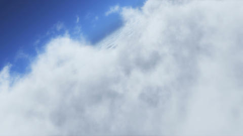 Sea Of Clouds stock footage