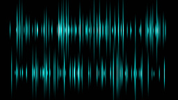 Waveform Sound stock footage
