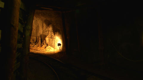 mining tunnel 07 Footage
