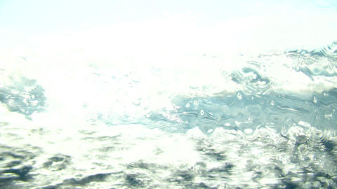 waterline slow motion 10 Stock Video Footage