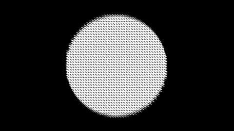 mesh circle Stock Video Footage