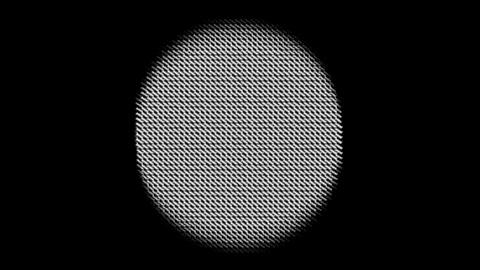 mesh circle Animation