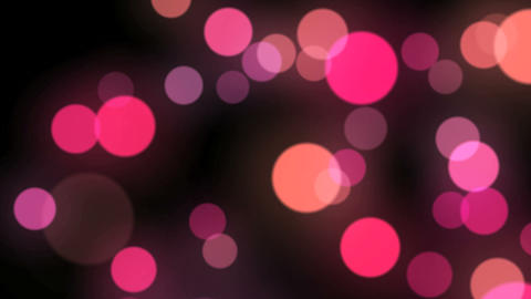 Moving Particle Light Red Animation
