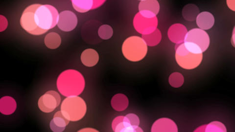 Moving Particle Light Red Stock Video Footage