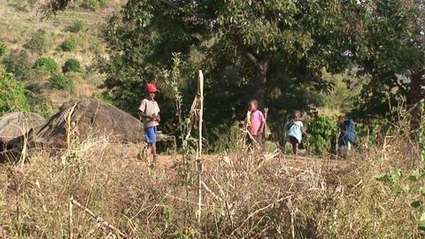 African Children (3) Stock Video Footage