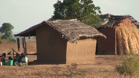 African Village (6) Stock Video Footage