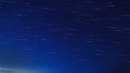 Stars leave traces above the city. Time Lapse Stock Video Footage