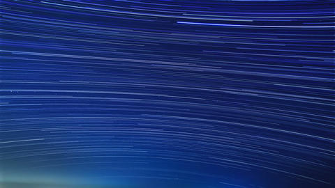 Stars Leave Tracks. Time Lapse stock footage