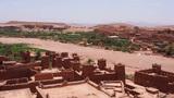 Ait Benhaddou, Morocco Stock Video Footage