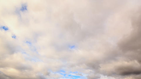 Clouds in the sky. Time Lapse. 4K Stock Video Footage