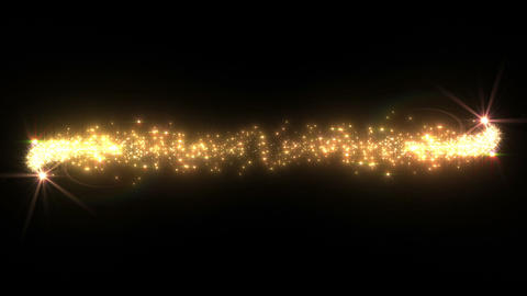 Light streaks and particles 2 C 1b 2 HD Stock Video Footage