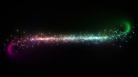 Light streaks and particles 2 Cr 1a 3 HD Stock Video Footage