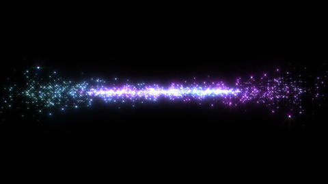 Light streaks and particles 2 Cr 1b 2 HD Stock Video Footage