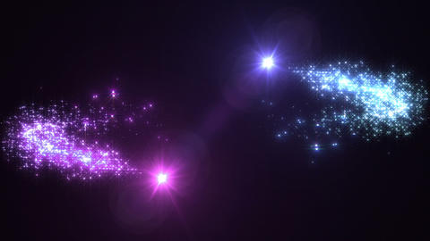 Light streaks and particles 2 Cr 1b 2 HD Animation