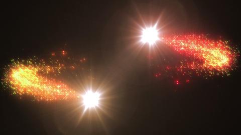 Light streaks and particles 2 Cr 1b HD CG動画