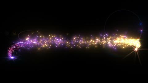 Light streaks and particles 3 C 1b 2 HD 動画素材, ムービー映像素材