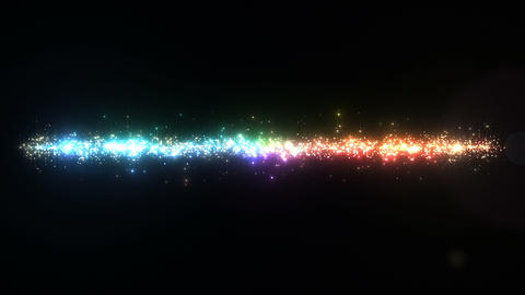 Light streaks and particles 3 C 3a 2 HD Stock Video Footage