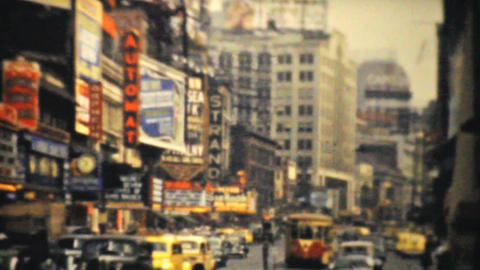 Strand Theatre On Broadway In New York City 1940 Footage