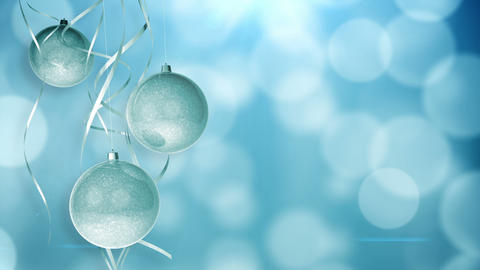 Christmas Ornaments stock footage