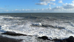 Rough Sea 2 Stock Video Footage