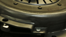 Automotive Clutch Plate stock footage