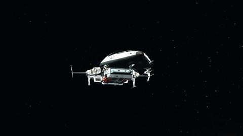 宇宙船 Stock Video Footage