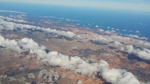 fly over lanzarote 11185 Stock Video Footage