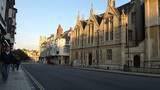 OXFORD UNIVERDITY STREET SCENE 26 A Stock Video Footage