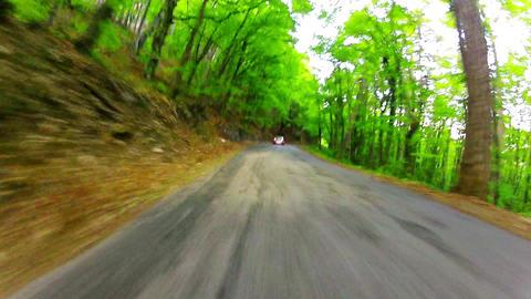ride on a car Footage