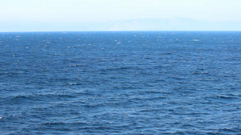 on the sea Stock Video Footage
