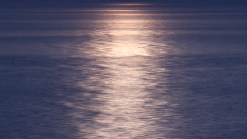 black sea light moving Stock Video Footage