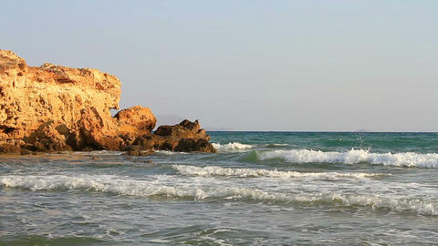 Sea coast Stock Video Footage