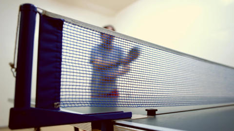 Ping-pong A stock footage