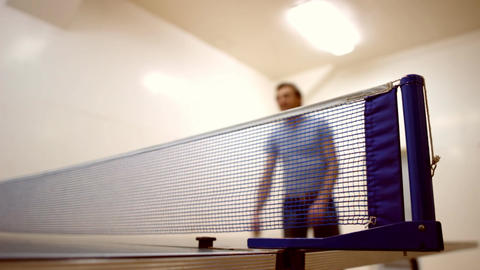 ping-pong c Stock Video Footage