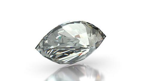Marquise cut diamond Stock Video Footage