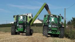 Farm Machinery stock footage