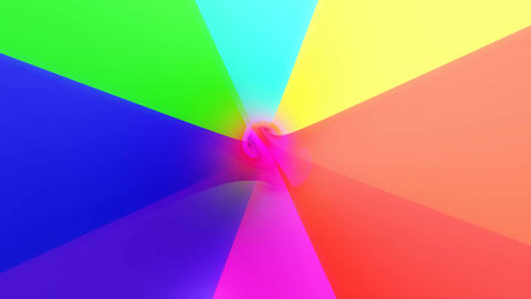 colorful umbrella tunnel Stock Video Footage