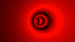 red neon tunnel Stock Video Footage