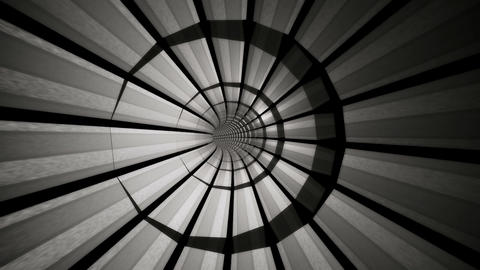 grey metal tunnel Stock Video Footage