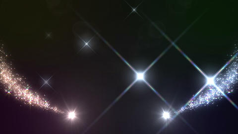 Light Streaks And Particles 2 A 0a 2f HD stock footage