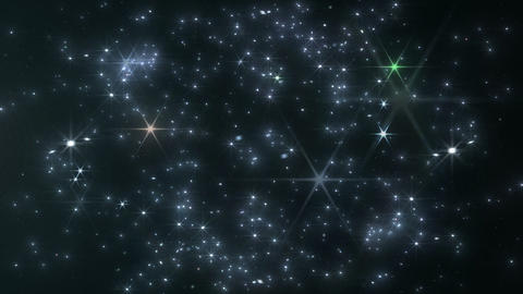 Light streaks and particles 2 Br 1b 2f HD Stock Video Footage