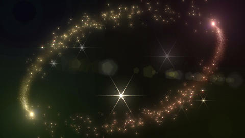 Light streaks and particles 2 D 1a 2f HD Stock Video Footage