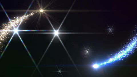 Light streaks and particles 3 C 0af HD Stock Video Footage
