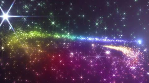 Light streaks and particles 3 Cr 2a 3f HD Stock Video Footage