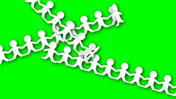 PAPER CHAIN PEOPLE Animation