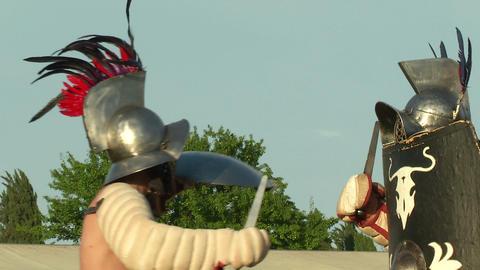 gladiator game Hoplomachus Thraex 11 Footage