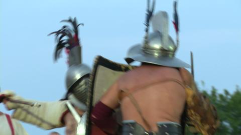 gladiator munus Hoplomachus Thraex 01 Footage