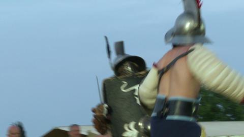 gladiator munus Hoplomachus Thraex 03 Footage