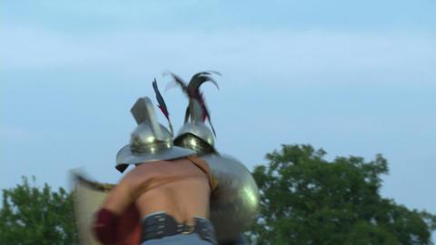 gladiator munus Hoplomachus Thraex 05 Footage
