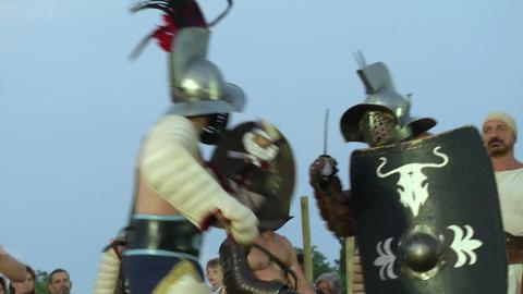 gladiator munus Hoplomachus Thraex 07 Footage